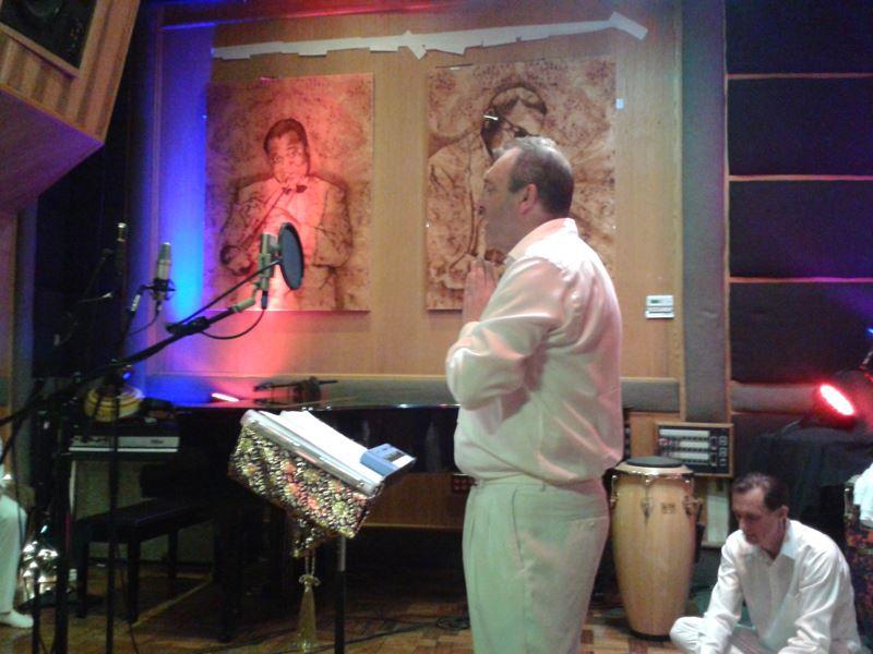 Adarsha recording